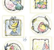 Marianne Design - Klippark Colourful birds