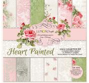 Lemoncraft - Heart painted pack 6x6 pck