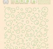 Leane Creatief - Embossing folder - Circles