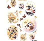 Marianne Design - Klippark- Mattie mooiste autumn flowers