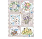 Marianne Design - Klippark- country flowers 1