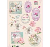 Marianne Design - Klippark- rose garden 2