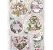 Marianne Design - Klippark- country style flowers