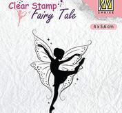 Nellie Snellen - clearstamp - Silhoutte - Fairy tale 11