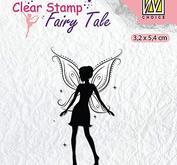 Nellie Snellen - clearstamp - Silhoutte - Fairy tale 13