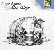 Nellie Snellen - Clear stamp - Beer