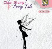 Nellie Snellen - clearstamp - Silhoutte - Fairy tale 14