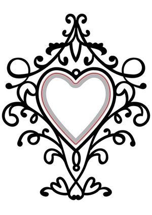 Nellie Snellen - Cut & emboss heart
