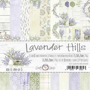 Craft O´Clock - Lavender Hills 6x6