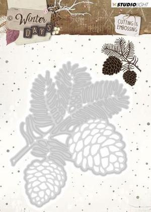 Studio Light - Cutting and embossing -  Winter days 110