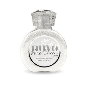 Tonic Nuvo pure sheen glitter 100ml ice white