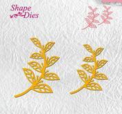 Nellie Snellen - Shape dies  -  Leaves-2