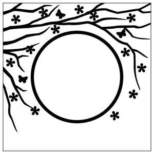 Nellie Snellen - Embossing folder - Spring