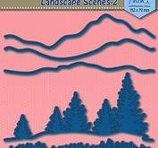 Nellie Snellen - Shape dies blue -  Landscape Scenes-2