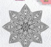 Nellie Snellen - Clearstamp - Mandala 2