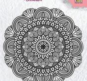 Nellie Snellen - Clearstamp - Mandala 3