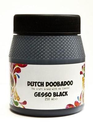 Dutch Doobadoo Dutch Gesso zwart 250ML