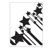 Embossing folder - stars