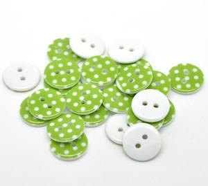 Prickiga knappar - Gröna
