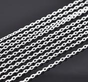 1 meter kejda - silverfärgad