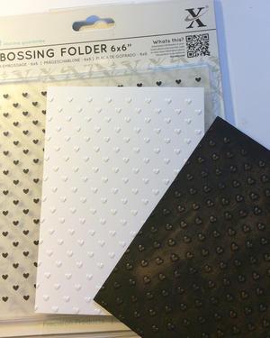 1. Inspiration embossing folders.
