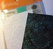 3. Inspiration embossing folders.
