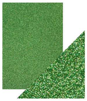 Craft Perfect -  Glitter card - Lucky Shamrock