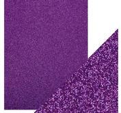 Craft Perfect -  Glitter card - Nebula Purple