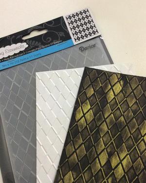 4. Inspiration embossing folders.