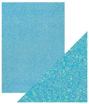 Craft Perfect -  Glitter card - Tropical Tide
