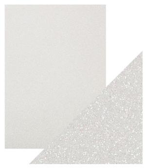 Craft Perfect -  Glitter card - Sugar Crystal