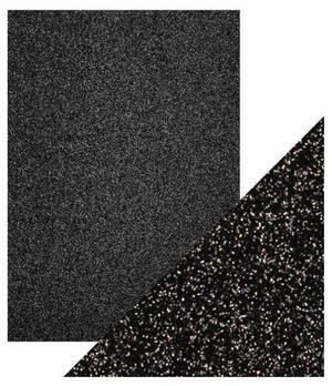 Craft Perfect -  Glitter card -Black Sapphire