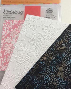 5. Inspiration embossing folders.