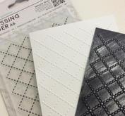 6. Inspiration embossing folders.