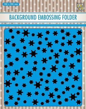 Nellie Snellen - Embossingfolder - Snowflakes