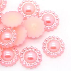 ca 30 st pärlblommor - Rosa