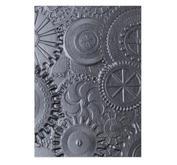 Sizzix - Embossing folder 3D - Texture fades - Gears