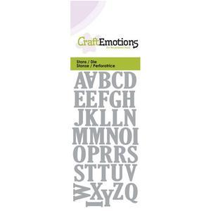Craft Emotions Uppercase Alphabet
