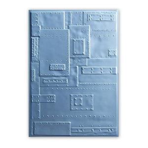 Sizzix - Embossing folder 3D - Texture fades - Rivets