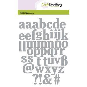 Craft Emotions Lowercase Alphabet