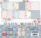Craft & You - Baby World  6 x 6 Block
