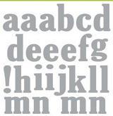 CE Uppecase  Alphabet, ca 1-1,5 cm höga