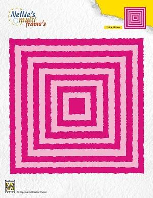 "Nellie Snellen  - Multi frame die - Photo frame  ""squares"""