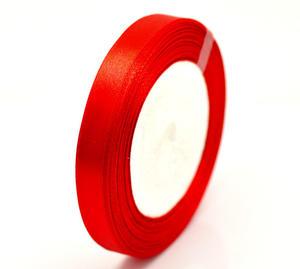 Hel rulle rött sidenband
