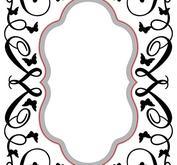 Nellie Snellen - Cut & emboss Oval/Butterfly / swirls