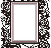 Nellie Snellen - Cut & emboss Rectangle floral