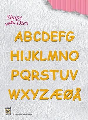 Nellie  Snellen - Shape Dies - alfabete - stora