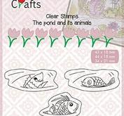 """Nellie Snellen Clear Stamps Pond-life """"fishes"""""""
