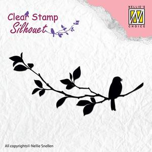 Nellie - Snellen - clear stamp Silhouet - 005