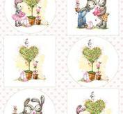 Marianne Design - Klippark-Bunny love 2